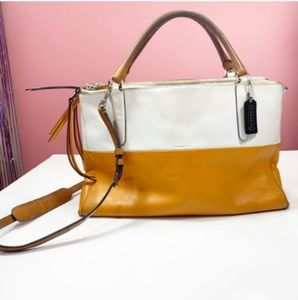 COACH Borough Color-Block Satchel Handbag $598